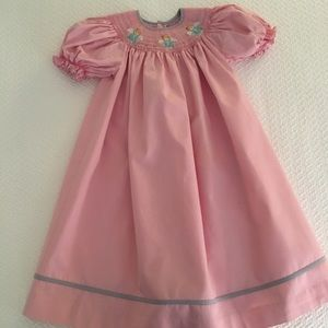 Mom & Me Smocked Dress